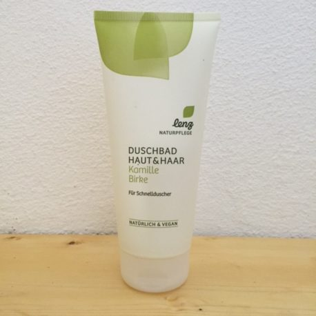 Lenz_naturpflege_Duschbad Haut und Haar