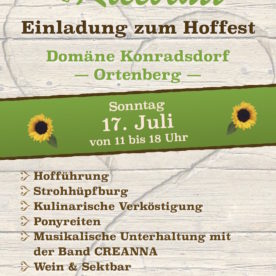 Hoffest Domäne Konradsdorf_2016