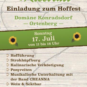Einladung zum 2. Hoffest