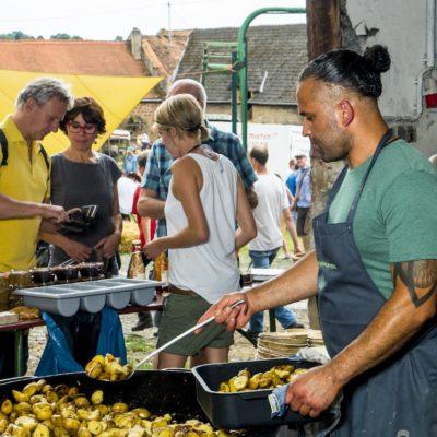 Starkoch Adrien Hurnungee verzauberte unsere Gäste kulinarisch.
