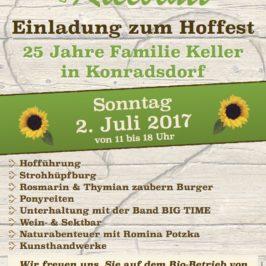 Hoffest Konradsdorf 2017