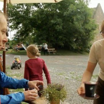 Erlebnis mit dem Fahrrad in Hessen