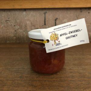 Apfel-Zwiebel-Chutney / 220 ml.