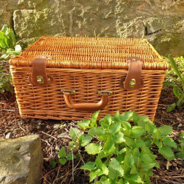 Picknick-Körbe aus dem Hofladen-Kleeblatt