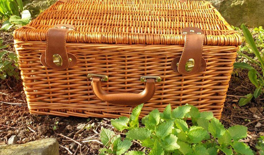 Picknickkorb, Hofladen Kleeblatt